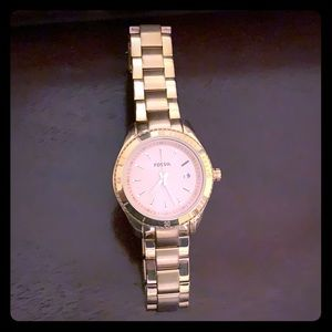 Accessories - Rose gold fossil watch